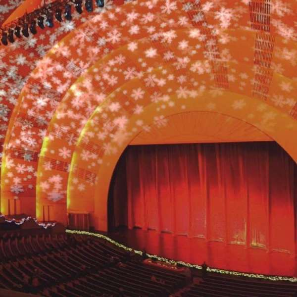 Radio City Music Hall, section: 2nd Mezzanine 2, row: B, seat: 201