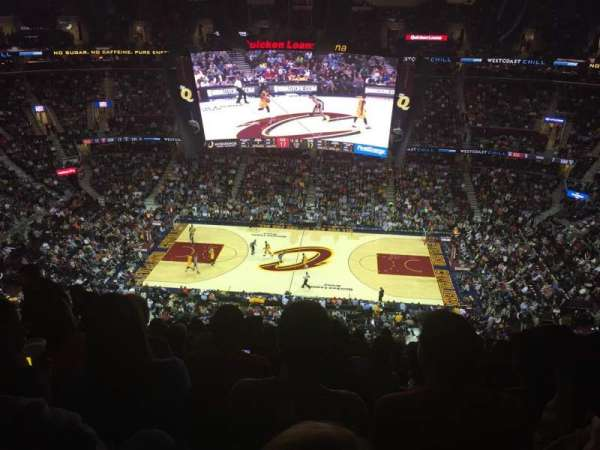 Quicken Loans Arena, section: 226, row: 13, seat: 10
