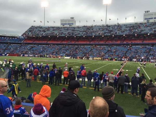 New Era Field, section: 131, row: 7, seat: 13