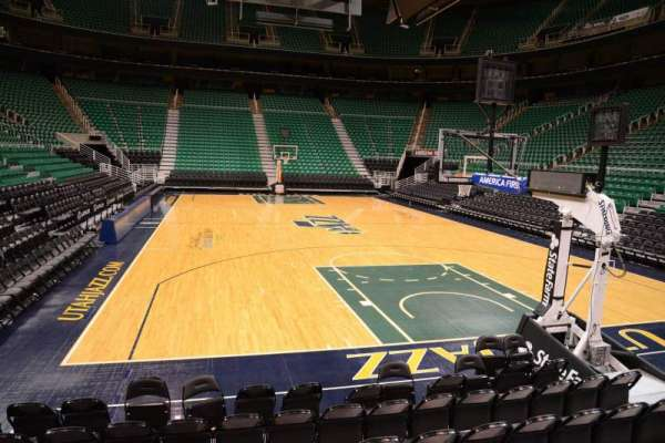 Vivint Smart Home Arena, section: 2, row: 5, seat: 8