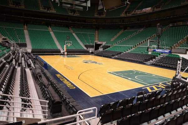 Vivint Smart Home Arena, section: 3, row: 5, seat: 3