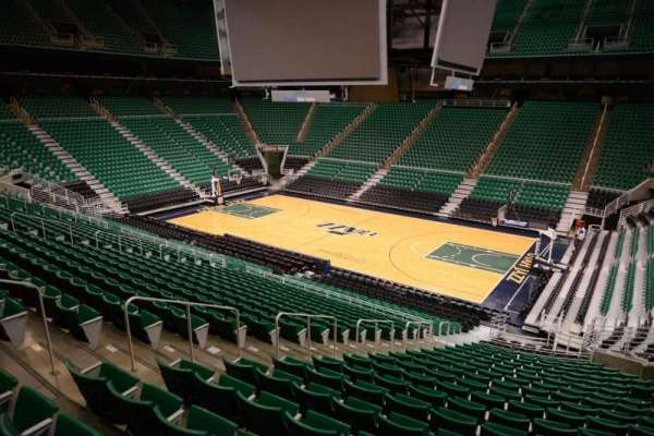 Vivint Smart Home Arena, section: 5, row: 25, seat: 8