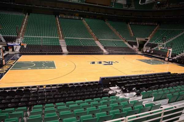 Vivint Smart Home Arena, section: 8, row: 10, seat: 9