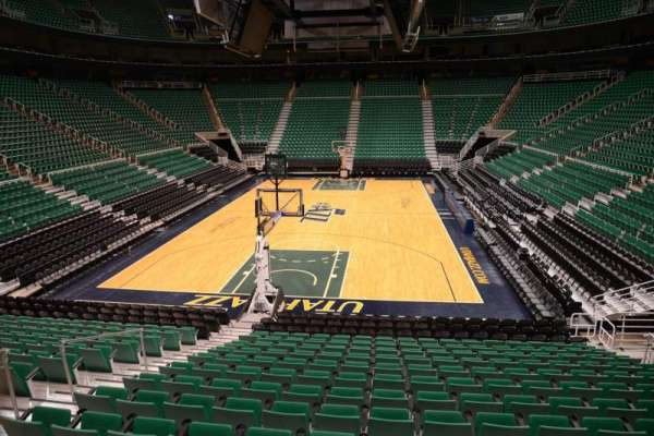 Vivint Smart Home Arena, section: 12, row: 15, seat: 7