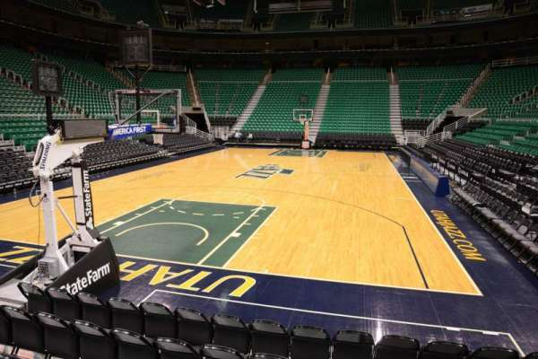 Vivint Smart Home Arena, section: 12, row: 5, seat: 8