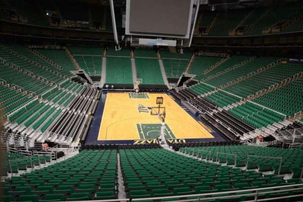 Vivint Smart Home Arena, section: 13, row: 25, seat: 9