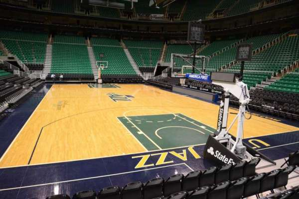 Vivint Smart Home Arena, section: 13, row: 5, seat: 8