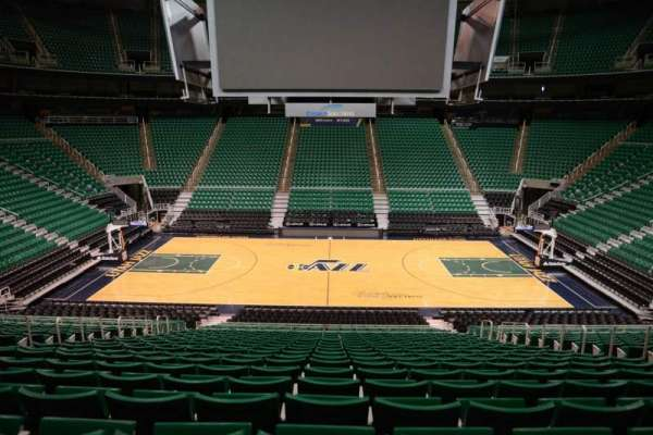 Vivint Smart Home Arena, section: 18, row: 25, seat: 9