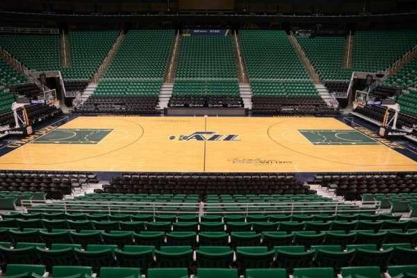 Vivint Smart Home Arena, section: 18, row: 15, seat: 9
