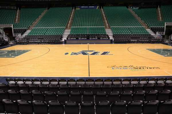 Vivint Smart Home Arena, section: 18, row: 5, seat: 9