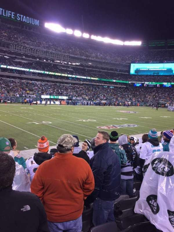 MetLife Stadium, section: 117, row: 8, seat: 18