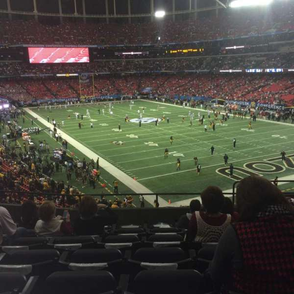 Georgia Dome, section: 239, row: 7, seat: 13