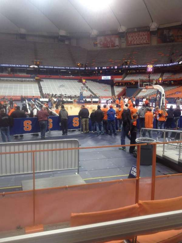 Carrier Dome, section: 114