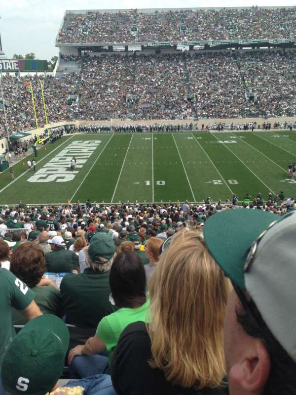 Spartan Stadium, section: 26, row: 46
