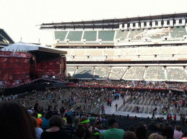 Lincoln Financial Field, section: 101, row: 29