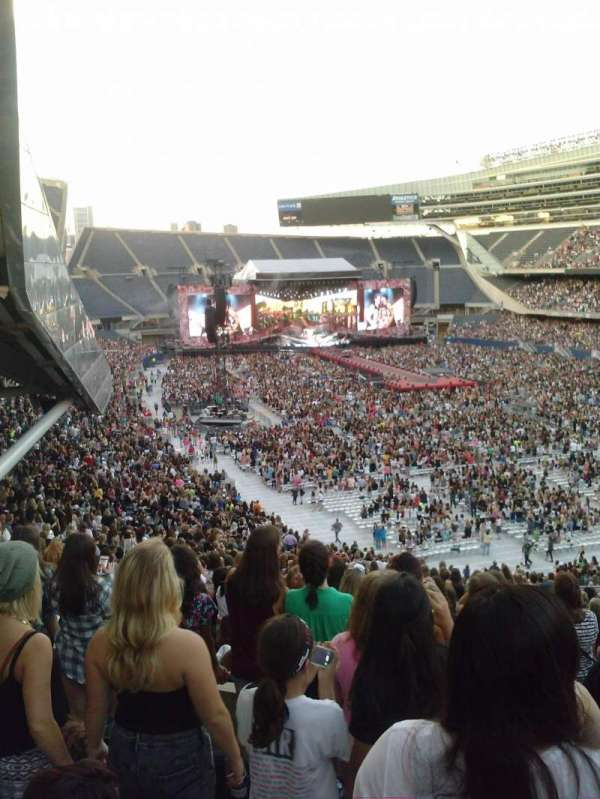 Soldier Field, section: 326, row: 6, seat: 1
