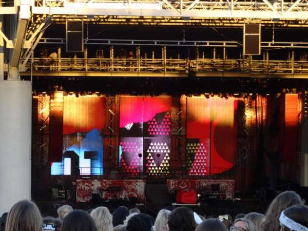 PNC Music Pavilion, section: Lawn, seat: Lawn
