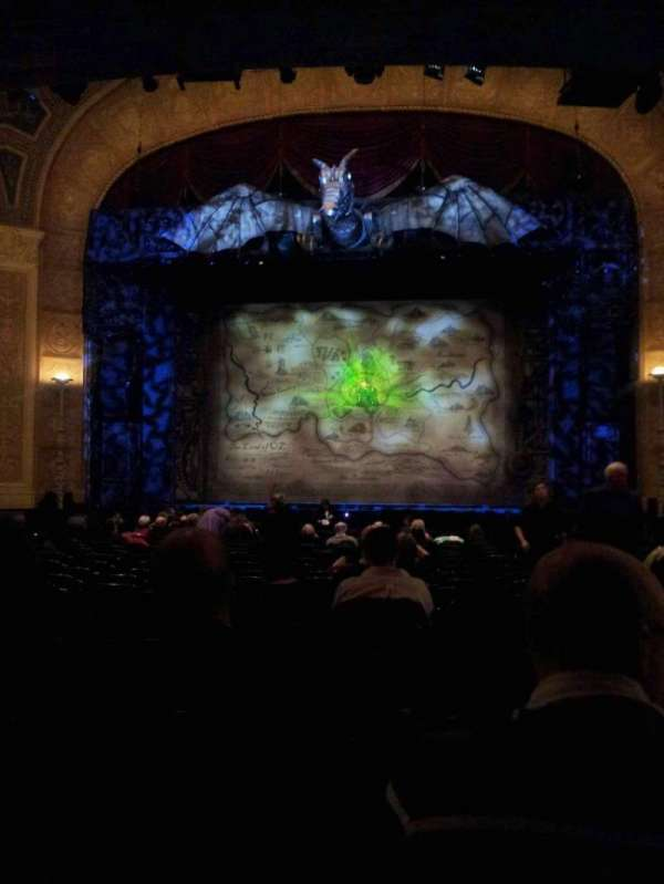 Detroit Opera House, section: Main Floor, row: V, seat: 213