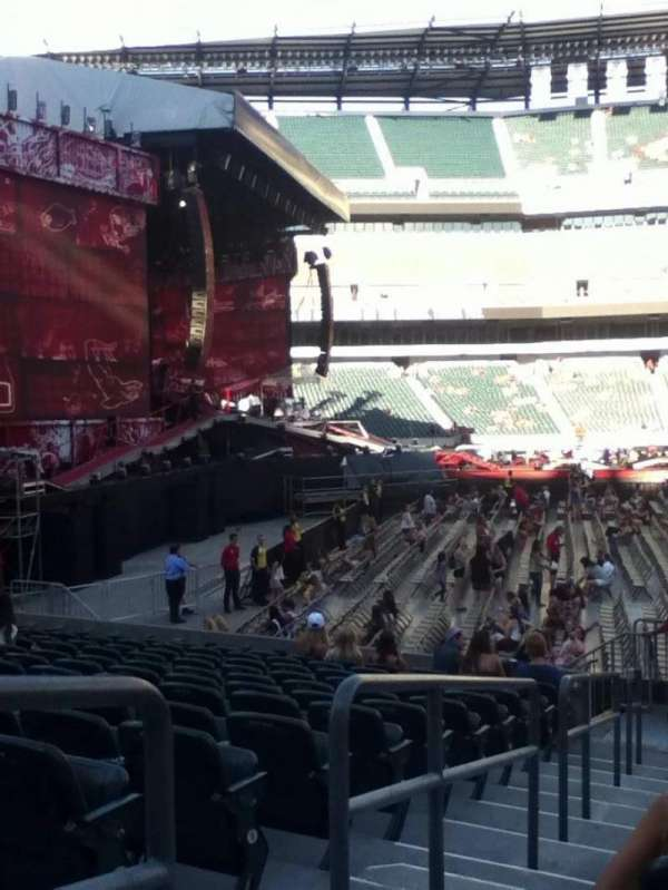 Lincoln Financial Field, section: 137, row: 13, seat: 18
