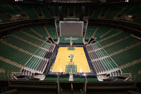 Vivint Smart Home Arena, section: 102, row: 8