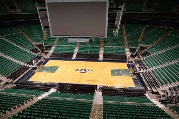 Vivint Arena, section: 111, row: 1