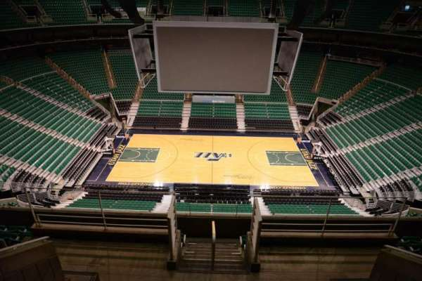 Vivint Arena, section: 112, row: 8