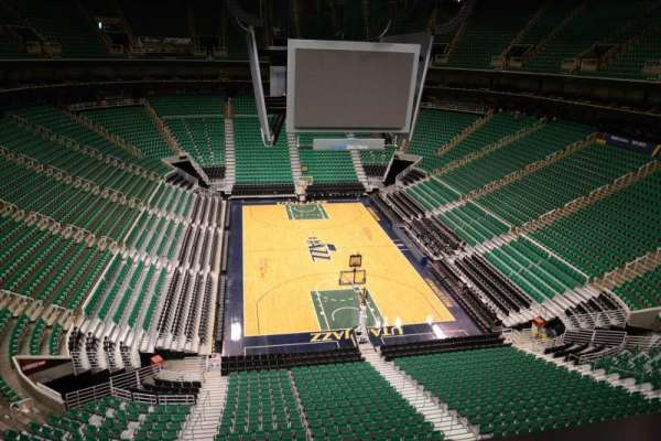 Vivint Smart Home Arena, section: 123, row: 1
