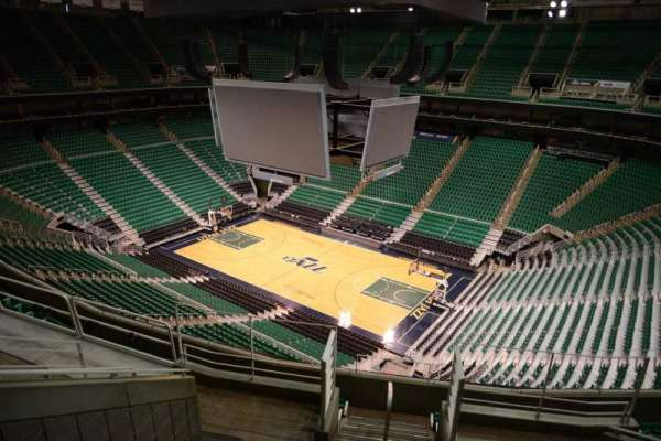 Vivint Smart Home Arena, section: 128, row: 8