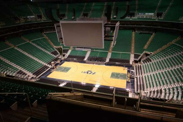 Vivint Smart Home Arena, section: 130, row: 10