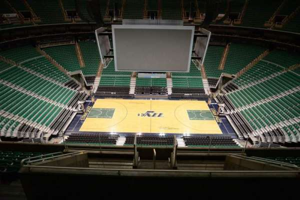 Vivint Smart Home Arena, section: 132, row: 10