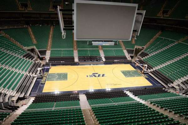 Vivint Smart Home Arena, section: 133, row: 1