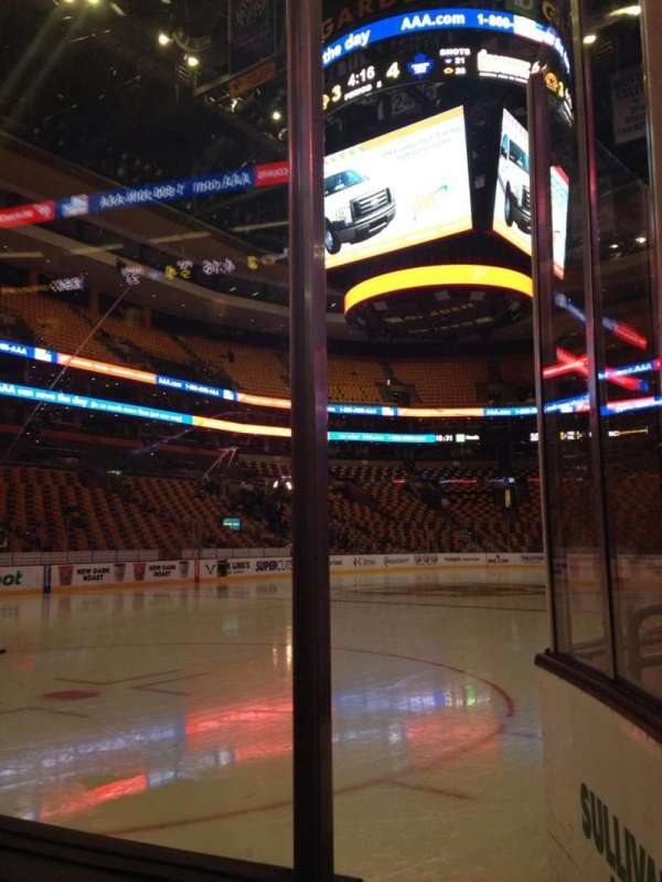 TD Garden, section: Loge 4, row: 1, seat: 3