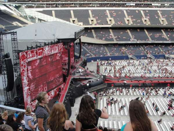 Soldier Field, section: 443, row: 11