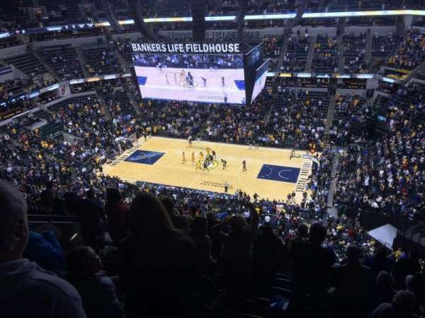 Bankers Life Fieldhouse, section: 207, row: 10, seat: 16