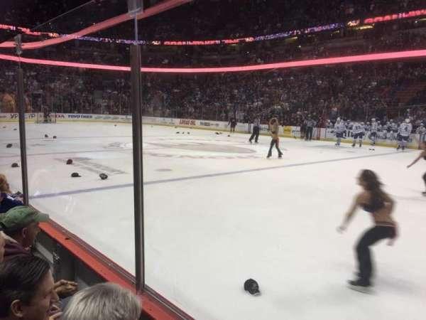 Honda Center, section: 220, row: B, seat: 7