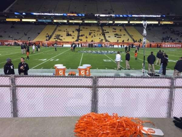 Sun Devil Stadium, section: 30, row: 1, seat: 21