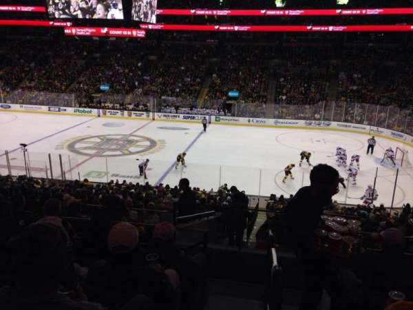TD Garden, section: Club 137, row: J, seat: 15