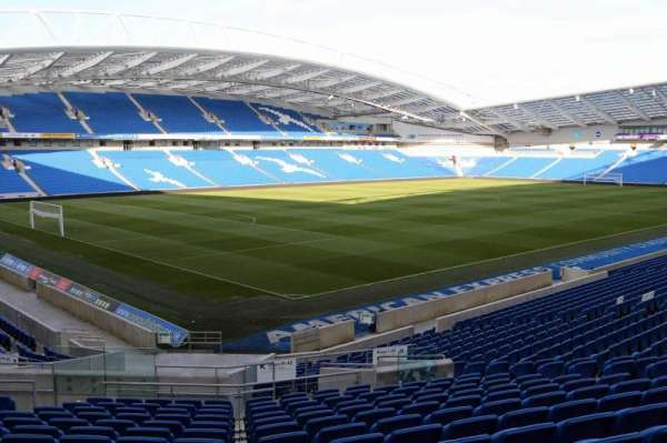 American Express Community Stadium, section: N1A, row: U