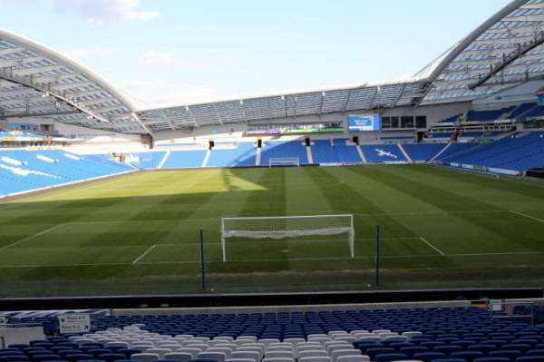 American Express Community Stadium, section: N1E, row: T