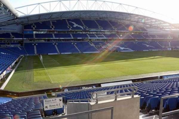 American Express Community Stadium, section: E1H