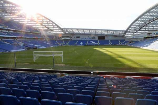 American Express Community Stadium, section: S1D, row: N