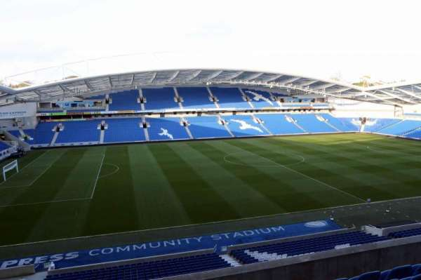 American Express Community Stadium, section: W2G, row: E