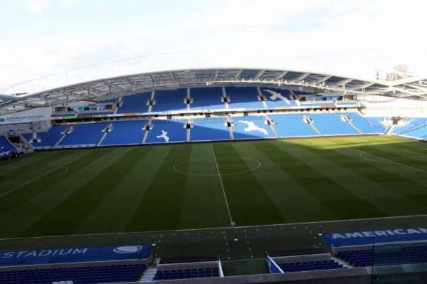American Express Community Stadium, section: W2D, row: C