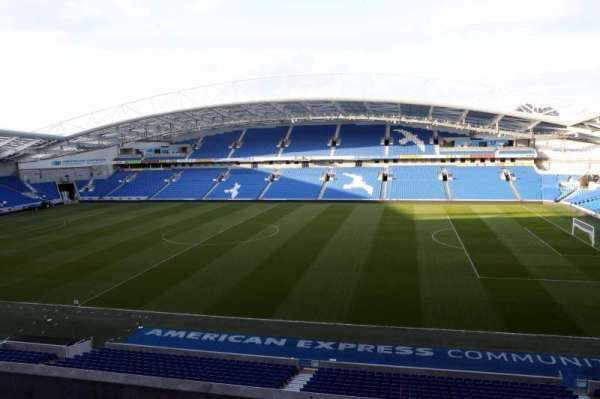 American Express Community Stadium, section: W2C, row: A