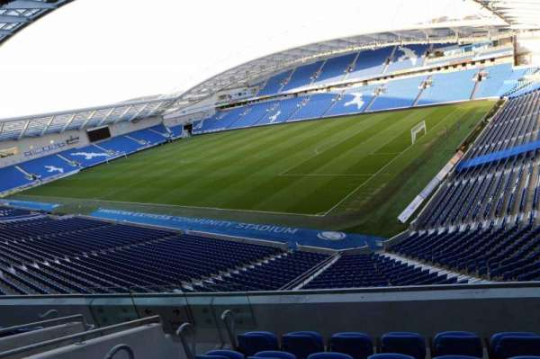 American Express Community Stadium, section: S2I, row: D