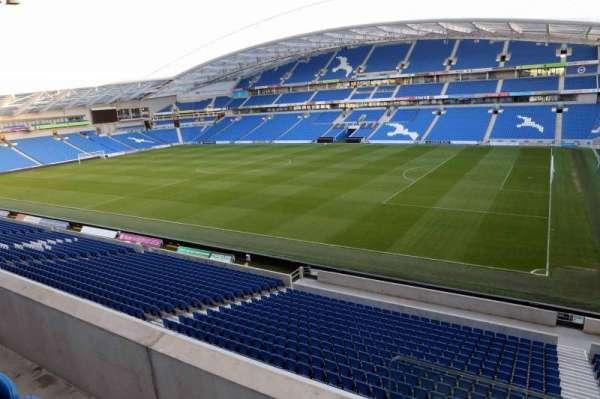 American Express Community Stadium, section: E3A, row: B
