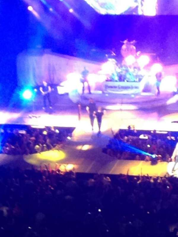John Paul Jones Arena, section: 307, row: M, seat: 22