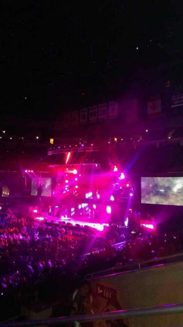 Staples Center, section: PR6, row: 5, seat: 1