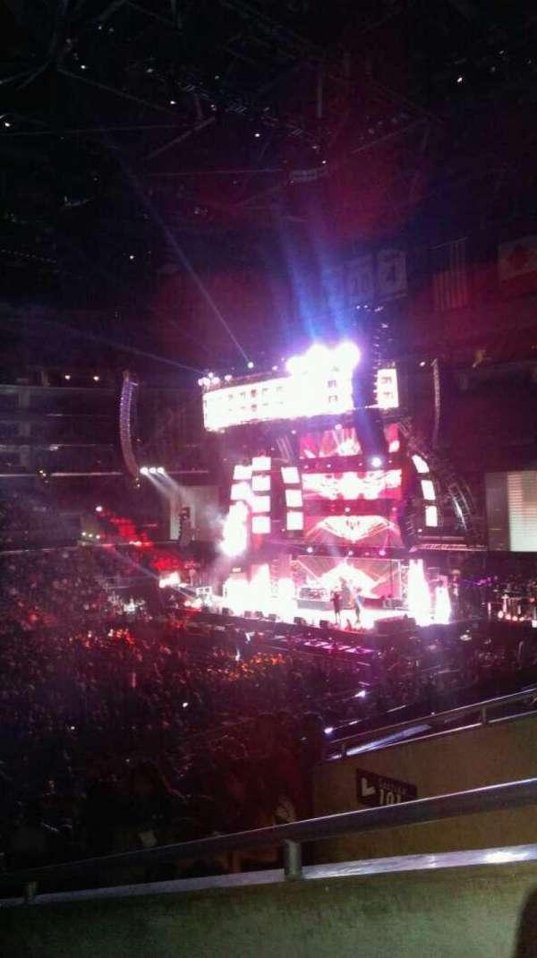 Staples Center, section: PR6, row: 5, seat: 1