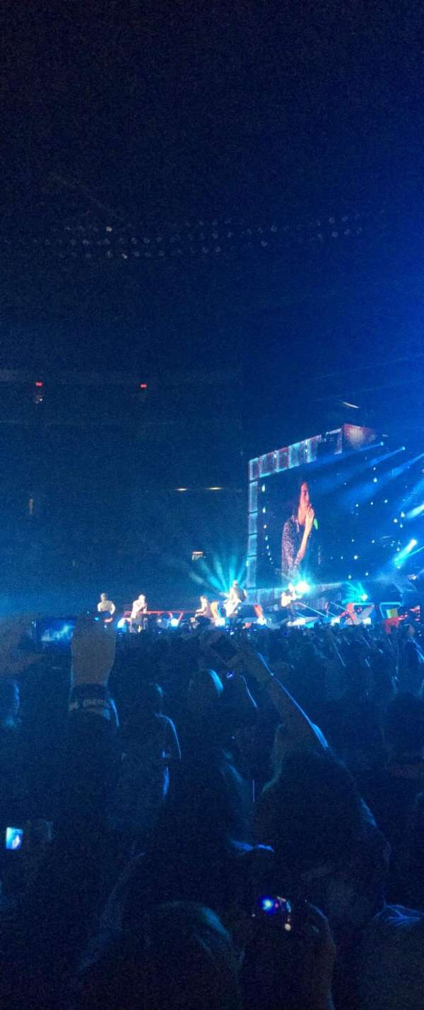 Rogers Centre, section: Floor B10, row: 5, seat: 7